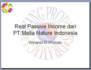 slide-show passive income nyata